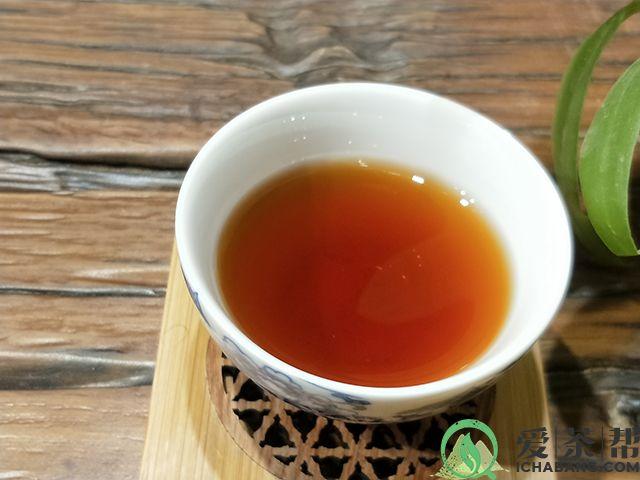 吃鸡饼普洱茶熟茶茶汤