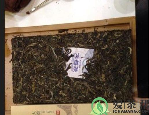 大益茶菁华厚砖品鉴与价值OTA