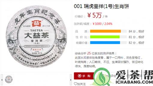解析大益茶不一样的市场行情